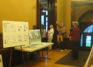 Lobbying at City Council for library